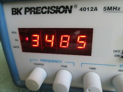 BK PRECISION 4012A 5 MHz SWEEP FUNCTION GENERATOR W/ 4 DIGIT LED DISPLAY • 149.99$