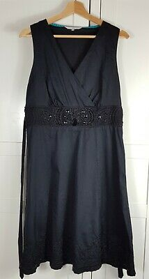 Rocha John Rocha Black Evening Dress Size 14 • 18£