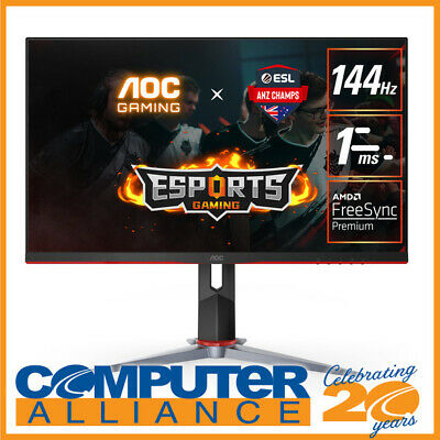 AU279 • Buy 23.8  AOC 24G2 FHD 144Hz IPS LED Gaming Monitor With Height Adjust