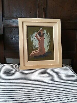A Superb Original Oil Painting By Eric Ward St Ives Cornwall Nude • 160£