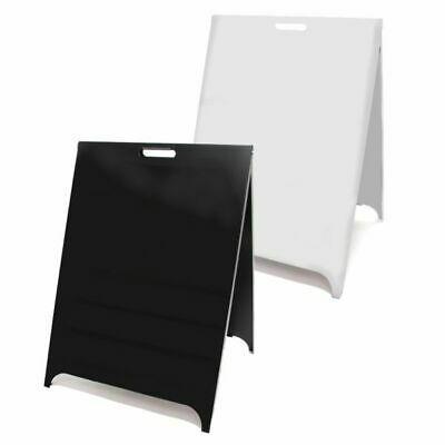 Customised Budget Metal Pavement Sign. Magnetic A-Board. A Frame. Metal A Board. • 120£