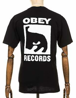 £29.45 • Buy Obey Clothing Records Icon Tee - Black