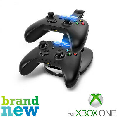 For Xbox One Controller LED Light Dual Controller Charging Dock Station Charger • 6.98$