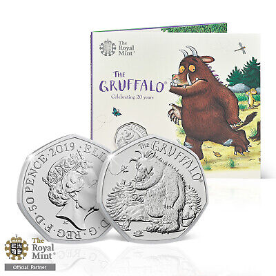 £10 • Buy The Gruffalo And The Mouse 50p New 2019 Brilliant Uncirculated Fifty Pence Coin
