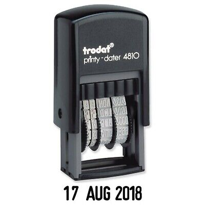 £5.75 • Buy Date Stamp Trodat Mini 4810 Dater Self Inking Rubber Stamp 2021