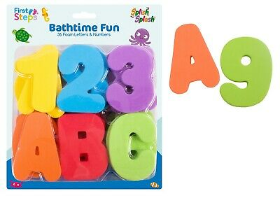 Baby Bath Magnetic Foam Letters And Numbers For Children Toy Net Set Kids Toy • 6.99£