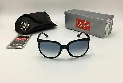 $99.99 • Buy Ray-Ban® CATS 1000 Women's Black Sunglass RB4126 601/3F Blue Gradient GLASS 57mm