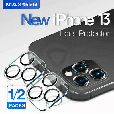 AU8.99 • Buy 2X MAXSHIELD Fr IPhone 13 Pro Max 12 Camera Lens Tempered Glass Screen Protector