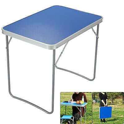 £15.99 • Buy Lightweight Adjustable Aluminum Folding Table Camping Outdoor Picnic BBQ Party
