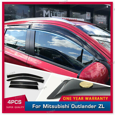 AU59.39 • Buy AUS Weather Shields Weathershields Window Visors For Outlander 12-20 #T