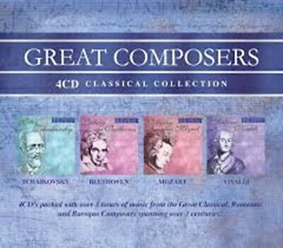 Great Composers 4CD Set • 9.99£