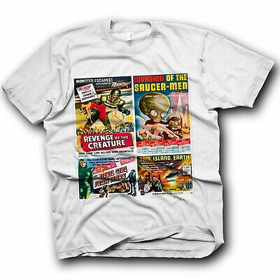 £5.49 • Buy Horror Fans Classic T Shirt Friday 13Th Halloween Childs Play Chinese Poster 4