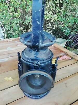 WW2 British Army Signal Oil Lamp Lantern Dated 1945 Broad Arrow Eastcott & Son  • 75£
