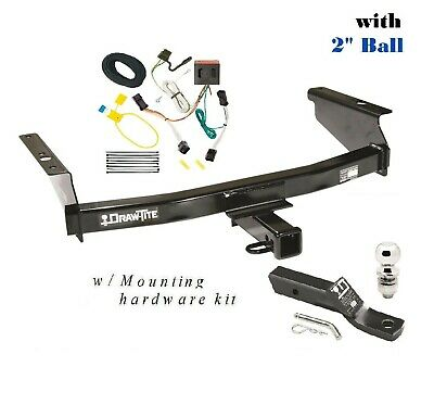 $249.21 • Buy FITS 2002-2007 JEEP LIBERTY CLASS 3  TRAILER HITCH PACKAGE W 2  BALL  75128