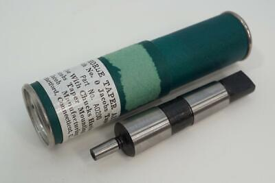 $31.99 • Buy New Original Jacobs 2 MT Morse Taper To No. 0JT Drill Chuck Arbor A0200. USA