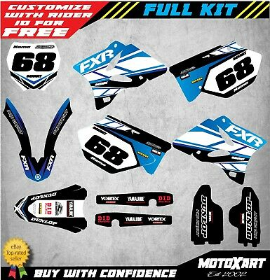 AU179.90 • Buy Custom Graphics, Full Kit For Yamaha YZ 125 2006 2007 OUTLAW STYLE Decal Kit
