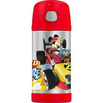 AU28 • Buy THERMOS Drink Bottle 355ml DISNEY Mickey And The Roadster Racers Authentic Kids