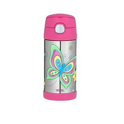 AU24 • Buy Thermos Drink Bottle 355ml Butterfly AUTHENTIC Kids Lunch Box