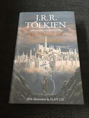 £68.58 • Buy J.R.R. TOLKIEN Signed Signiert ALAN LEE  THE FALL OF GONDOLIN  Buch InPerson
