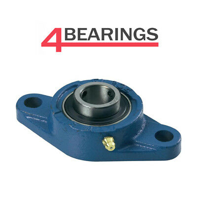 UCFL Metric Flanged Pillow Block Self Lube Bearing 2 Bolt Flange Normal Duty • 6.41£
