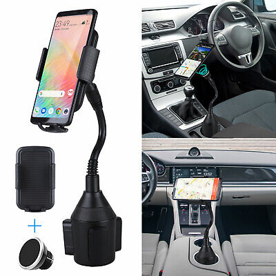 $13.97 • Buy Magnet Mobile Cell Phone Mount For Car Cup Holder Magnetic Travel Accessories