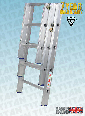 Professional Double And Triple Ladders, Titan TROJAN, BUY THE BEST ONCE. • 29.95£
