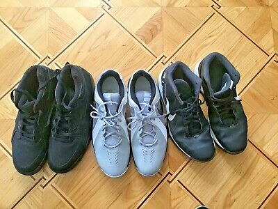 $ CDN106.80 • Buy NIKE Lot Wholesale Used Shoes THREE  PAIRS Of Shoes COLLECTION ALL SIZE 13 /47,5
