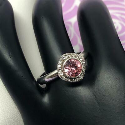 Brighton Romantica Ring With Pink Stone  NWoutlet Tag      Size 9 • 21.60$