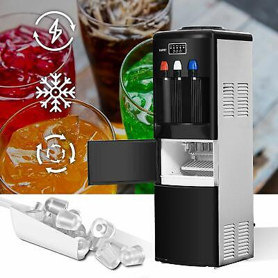 $1259.90 • Buy 2 In 1 Electric Cold Hot Water Dispenser W/ Built-in Ice Maker Machine Portable