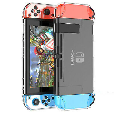 $8.79 • Buy 360° Clear Hard Protective Case Slim Anti-Scratch Cover Skin For Nintendo Switch