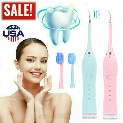 $17.85 • Buy Ultrasonic Scaler Electric Tooth Cleaner Dental Calculus Stain Remover 100 Swabs