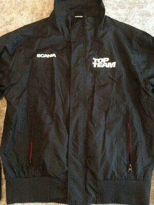 £29.99 • Buy Genuine Scania Logo Team Men's Black Soft Shell Jacket Size Medium 40  Inch New