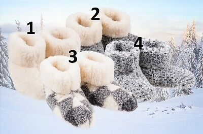 £10.98 • Buy Ladies Slippers Womens Fur Thermal Ankle Boots Warm Shoes Size Uk 3 4 5 6 7 8