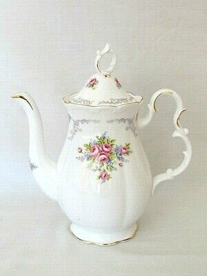 £162.83 • Buy Royal Albert Tranquillity Coffee Pot. Bone China. Made In England. MINT NEW
