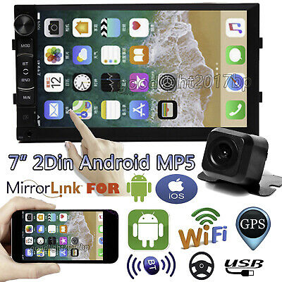 $102.37 • Buy Android 9.1 Car Radio GPS Navigation 2 Din 7'' Touch Screen Stereo Backup Camera