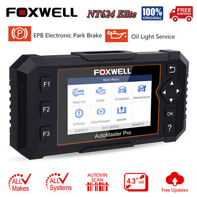 $209 • Buy Foxwell Auto OBD2 Scanner All System Engine ABS SRS Diagnostic Tool EPB Reset