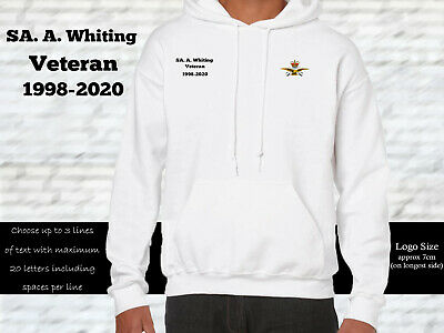 RAF Physical Training Instructor Personalised Hoodie • 27.99£