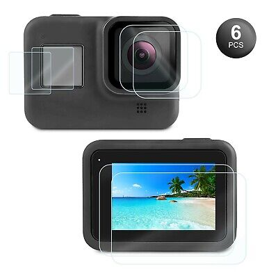 $ CDN14.68 • Buy Kupton Screen Protector For GoPro Hero 8 Black 6 Pcs, Ultra Clear Tempere... New