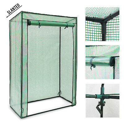 Tomato Greenhouse Frame And Reinforced PE Weather Cover Garden Vegetables Grow • 115.89£