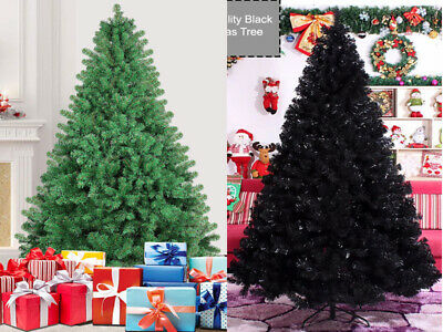 5ft / 6ft / 7feet Christmas Tree Metal Stand Xmas Tree Traditional Decorations • 39.99£