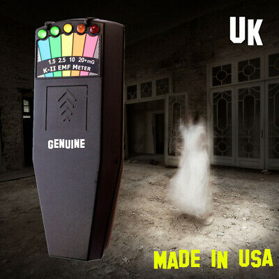 AU98.80 • Buy Genuine Original K2 EMF Meter, Paranormal Ghost Hunting Equipment K-II /KII - UK