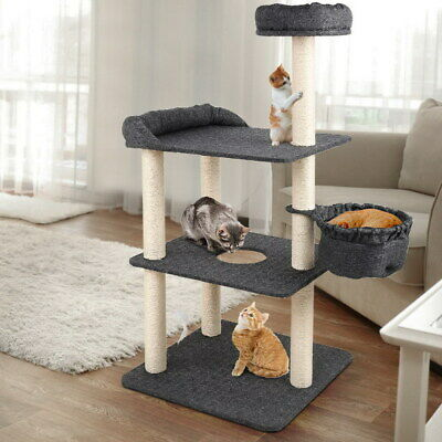 AU64.50 • Buy I.Pet Cat Tree Trees Scratching Post Scratcher Tower Condo House Furniture Wood