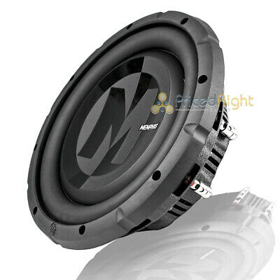 $159.95 • Buy 10  DVC Shallow Subwoofer 700W Max 4 Ohm Power Reference Memphis Audio PRXS1044