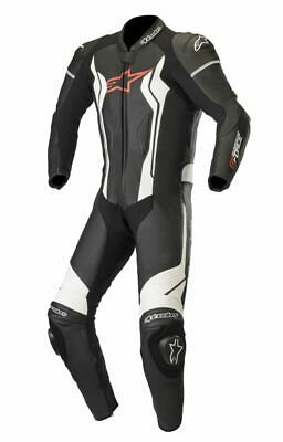 $868.88 • Buy Alpinestars GP Force Leather 1PC Sports Motorcycle Track Race Suit - Black/White