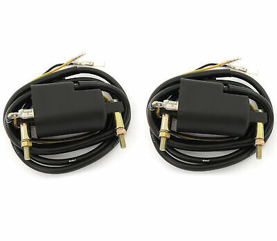 2X SUZUKI GS1150 GS1100 GS1000 GS850 GS750 12V 4ohm Dual Output Ignition Coil • 38.99$