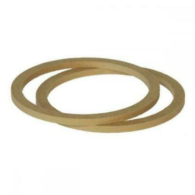 £8.91 • Buy 6.5  165mm Pair Of MDF Speaker Spacer Mounting Rings 8mm Thick ID 144mm ED 166mm