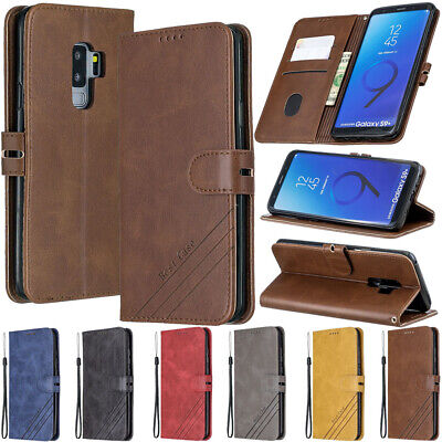 $ CDN6.23 • Buy For Samsung Galaxy S7 S8 S9 S10 Plus Flip Magnetic Leather Wallet TPU Case Cover