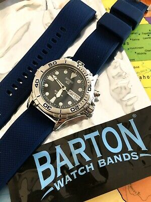 RARE JDM 38mm Seiko AGS 200m Scuba KINETIC Blue Dial 5M23-6A60 NEW CAPACITOR! • 195$