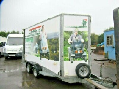 Ifor Williams Special Order 3.5 Ton 14ft Box Trailer For Mobility Scooter Toilet • 4,950£
