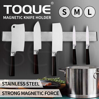AU26.99 • Buy Magnetic Wall Mount Knife Holder Utensil Rack Heavy Duty Kitchen Chef Tool S/M/L